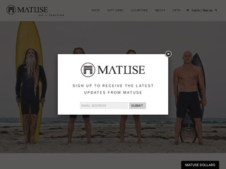 Read more about : Matuse Wetsuits