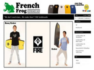 Details : French Frog bodyboard shop