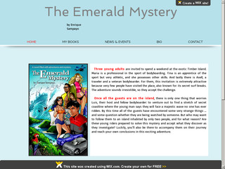 Read more about : The Emerald Mystery --- youth novel !