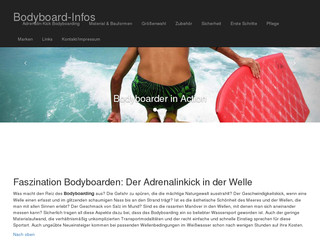 Read more about : Omegabodyboards - Technique & Tipps