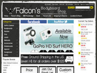 Falcon's Bodyboard Shop