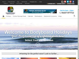Read more about : Bodyboard-Holidays