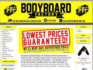 Read more about : Bodyboard Factory