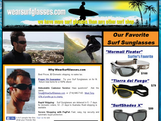 Read more about : The Surf Sunglasses Superstore - Spex - Ocean - Barz