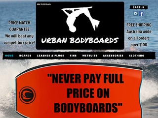 Read more about : Urban bodyboards shop and online store