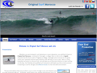 Read more about : Surf school morocco