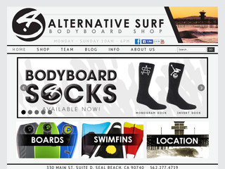 ALTERNATIVE SURF CORE BODYBOARD SHOPS