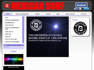 Read more about : MEXICAN Surfwear