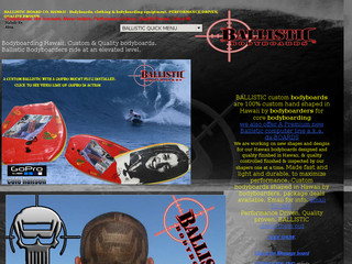 Read more about : BALLISTIC bodyboards