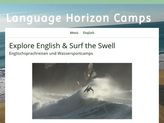 Details : Language Horizon Camps, English Language Study Travels and Bodyboarding Camps